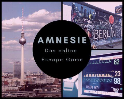 Escape Room AMNESIE - Das Online escape Game
